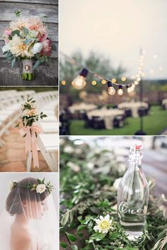 garden wedding inspiration >> http://www.yesbabydaily.com/blog/garden-weddings