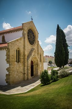 Sta Maria Do Olival church - Tomar - Portugal