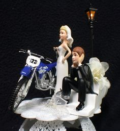 cake toppers for weddings dirt bike KTM 520 Dirt Bike Got the