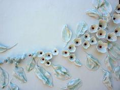 Hélène LATHOUMÉTIE - Mes porcelaines - Plaque murale