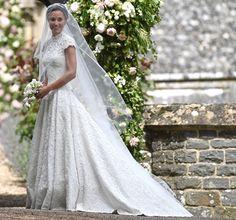 Pippa Middleton álomesküvőjén mindent túlragyogott