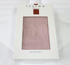 Issimo Полотенце Issimo Ravenna, 70х140, Розовое. Покупайте в интернет магазине Almadom.ru