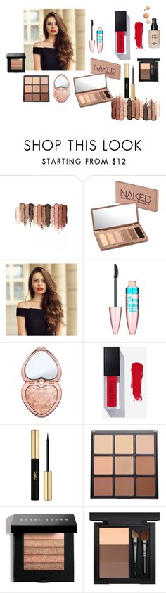 """""""NUDENature"""" by maria99frances on Polyvore featuring beauty, tarte, Urban Decay, Maybelline, Too Faced Cosmetics, Yves Saint Laurent, Morphe, Bobbi Brown Cosmetics, MAC Cosmetics and CC"""