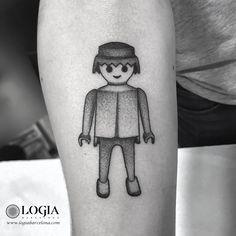 Φ Artist PEPO ERRANDO Φ  Info & Citas: (+34) 93 2506168 - Email: Info@logiabarcelona.com www.logiabarcelona.com #logiabarcelona #logiatattoo #tatuajes #tattoo #tattooink #tattoolife #tattoospain #tattooworld #tattoobarcelona #tattooistartmag #tattoosenbarcelona #tattooisartmagazine #tattoos_of_instagram #ink #arttattoo #artisttattoo #inked #instattoo #inktattoo #cool #tattoocolor #tattooartwork  #click #playmobils