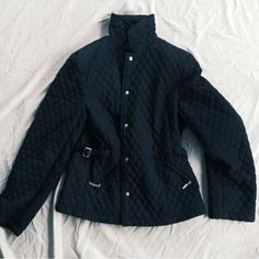 Giacca black puffer coat, size large, great condition! #giacca #puffercoat #large #black #jackets #outerwear #coldweather