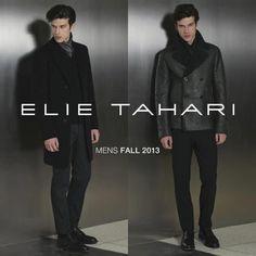 Elie Tahari Men's Fall 2013 collection.
