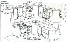 Проект  кухни  в доме серии  КОПЭ-М-Парус (ЖК «Аннинский»)