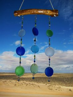 Bottle Bottoms Windchime