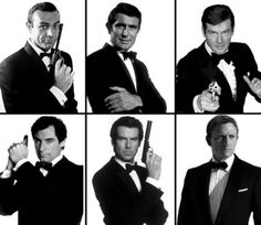 Mr Bond. Celebrating fifty cinematic years. No doubt with a martini. Shaken. Not stirred.