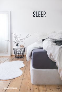 Bedroom box spring bed white gray nordic bedroom set up … – Schlafzimmer ideen Home Bedroom, Bedroom Decor, Bedroom Ideas, Grey And White Bedding, Floor Vase Decor, Bed Springs, Luxurious Bedrooms, My New Room, Home And Living