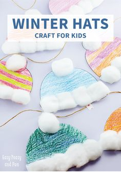 Your kids will love decorating this Winter Hat Craft with a variety of paints and unique patterns. Wonderfully colorful—and easy—this winter-themed project will add the perfect festive touch to your home.