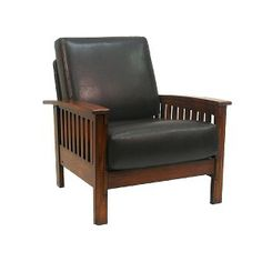 Target Mobile Site - Mission Faux-Leather Chair
