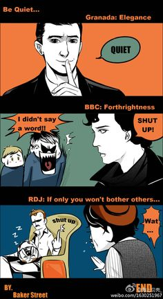 which version of sherlock holmes is ur fave