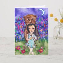 Fairychamber: products on Zazzle Myth of Callisto Greek Mythology Greeting Card Fairychamber: products on Zazzle Holiday Cards, Christmas Cards, Samhain, Greek Mythology, Elephant Gifts, Pagan, Art Pieces, Illustration Art, Greeting Cards