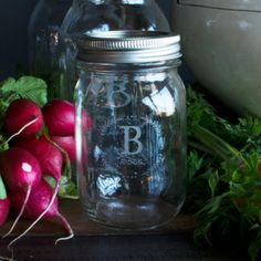 Personalized Canning Jars