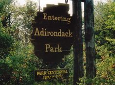 Adirondack Park, approximately the size of the state of Vermont, is only four hours north of New York City, a day's drive from Ontario, and just two hours from Montreal.