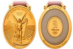 Medalla de los Juegos Olímpicos Pekin 2008 en China
