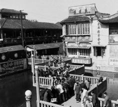 Jack Birns, Shanghai, China, 1949. #上海 #豫园