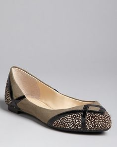 Seylia Pointed Toe Flats