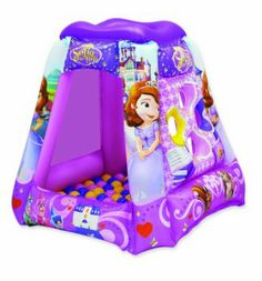 """Disney Sofia the First Playland with 20 Balls - Moose Mountain Toyma - Toys """"R"""" Us Toddler Gifts, Toddler Toys, Toddler Learning, Learning Toys, Sofia The First Room, Babies R Us, Baby Kids, Indoor Play, Kids Tv"""