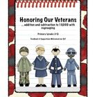 Honoring Our Veterans Math Center ~ Task Cards ~ addition  subtraction to 10,000 with regrouping ~ Primary (2nd- 5th grade)  Engage students i...