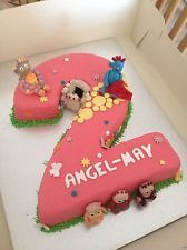 IN THE NIGHT GARDEN CAKE IGGLE PIGGLE UPSY DAISY TOMLIBOO BIRTHDAY CAKE