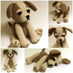Crochet Pattern Sammy the Puppy Dog Crochet dog by Zizidora