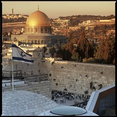 Jerusalem! Saw it with Zola Levitt's tour. A pastor just said that it's worth taking out a loan to go. I agree. One of my characters goes here to explore his roots. He discovers more than he expected.