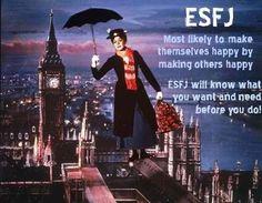 ESFJ Mary Poppins