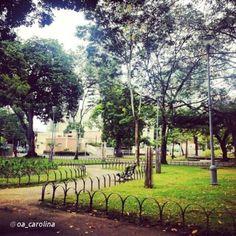 Praça de Casa Forte. Recife - Pernambuco - Brasil.