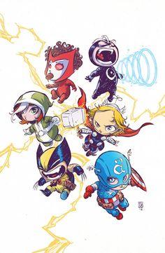 Baby Heroes – Les Super-Héros mignons de Skottie Young | Ufunk.net