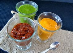Three sauces to add flavor to meat , vegetables & eggs while on the 4-Hour Body Diet (aka Slow Carb Diet)