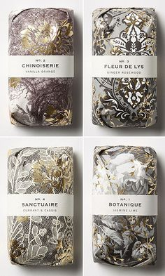 Fringe Alchemy soaps by Anthropologie