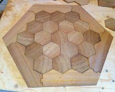 MUST!...make a wooden Catan board!!!