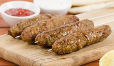 A healthier version of a takeaway doner kebab, which can be high in fat - try this lower fat, but very tasty alternative. Turkish Recipes, Greek Recipes, Meat Recipes, Slow Cooker Recipes, Cooking Recipes, Greek Cooking, Easy Cooking, Slow Cooker Minced Beef, Antipasto