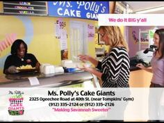 D Media Group's Ms. Polly's Cake Giants Commercial - YouTube
