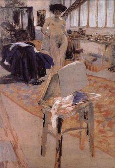 Jean-Edouard-Vuillard-Nude-Woman-Standing-Oil-Painting.jpg 343×500 pixels
