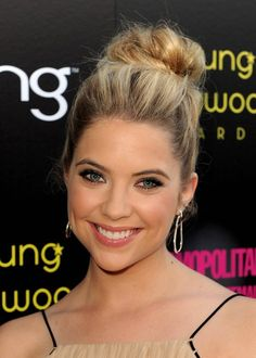 Homecoming Hairstyles for Long Hair: Bun Updo