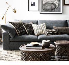 Restoration Hardware: Introducing Authentic African Mud Cloth Pillows & Throws | Milled