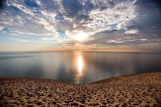 Sleeping Bear Dunes National Park in Northern Michigan.    Google Image Result for http://www.mynorth.com/images/meta/sleeping-bear-main.jpg