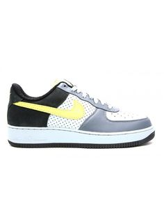 online store 68263 b964a Air Force 1 Low Premium Wildwood Flint Grey, Sonic Yellow-Black 318775-071