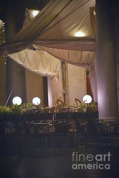 http://fineartamerica.com/featured/a-venetian-nightfall-photos-by-zulma.html?newartwork=true #Zulma #Venice #Europe #Italy #night #restaurant #photograph