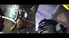 R2-D2 an Astromech Droid and C-3PO a Protocol Droid