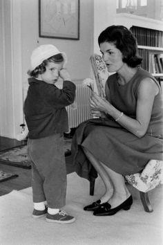 Caroline & Jackie Kennedy