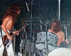 Glenn Hughes & Ian Paice LIVE onstage w/ #DeepPurple MKIII March 1974 #GlennHughes #IanPaice #Burn