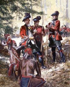 Broadsword of the Blackwatch 1759 by Don Troiani: French and Indian War, 1754-1763