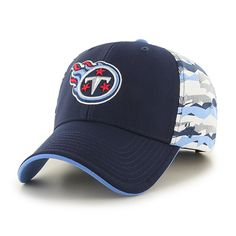 finest selection 11c26 654e1 tennessee Titans Carrier MVP Light Navy 47 Brand Adjustable Hat