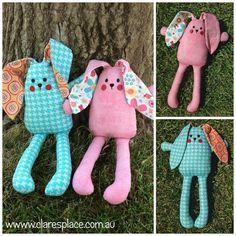 Belle & Bert pattern by Clares Place