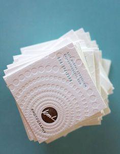 100 Best Letterpress Business Cards