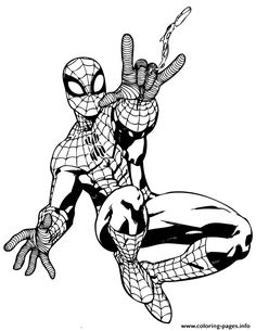 Spiderman Coloring Pages Venom Characters not disney Coloring